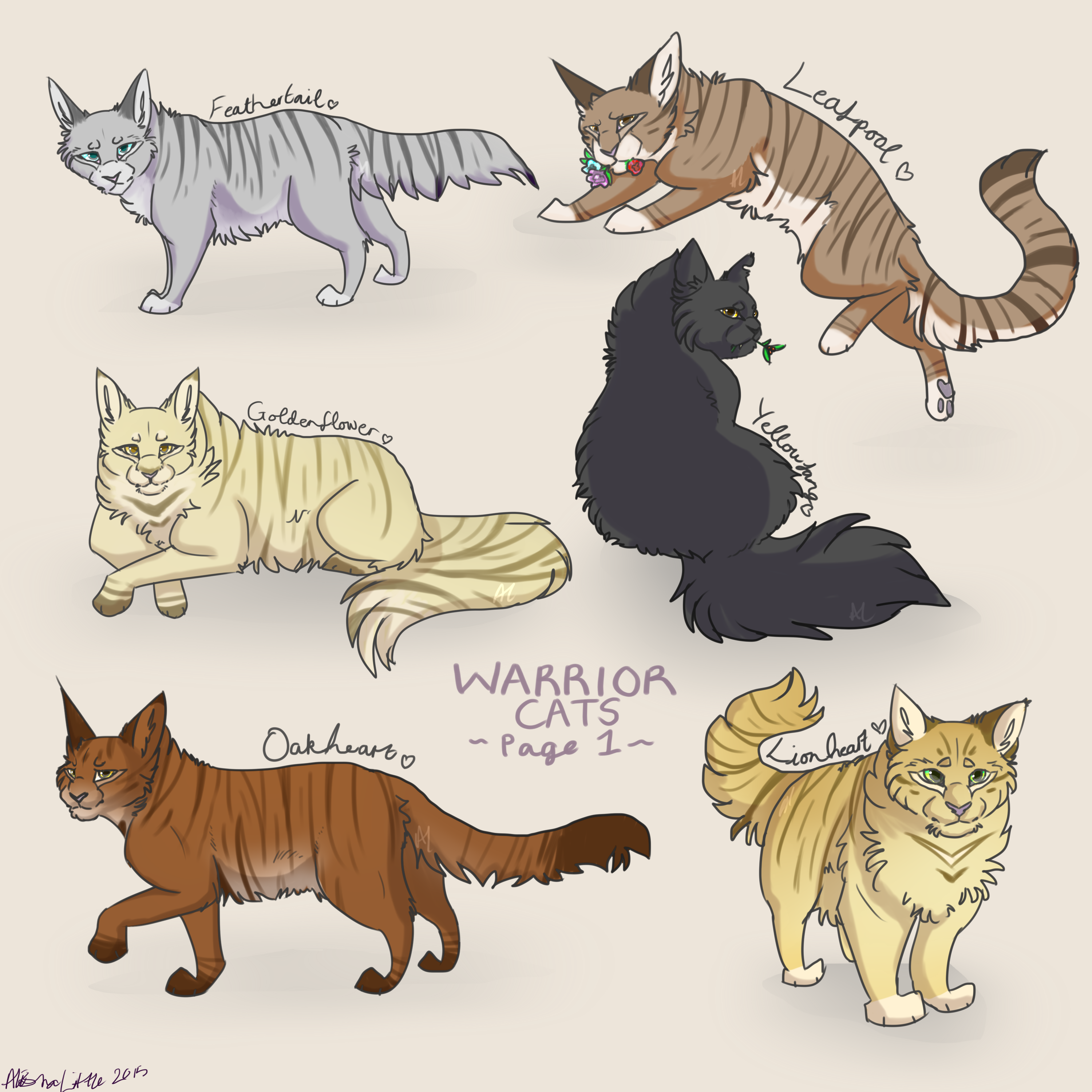 Warrior Cat Names With Reed