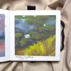 Lilypad Painting