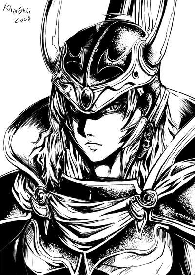 Armitael Gaiden: LM Edition Dissidia__Warrior_of_Light_by_khanshin