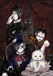 Kuroshitsuji:Megane and Cat