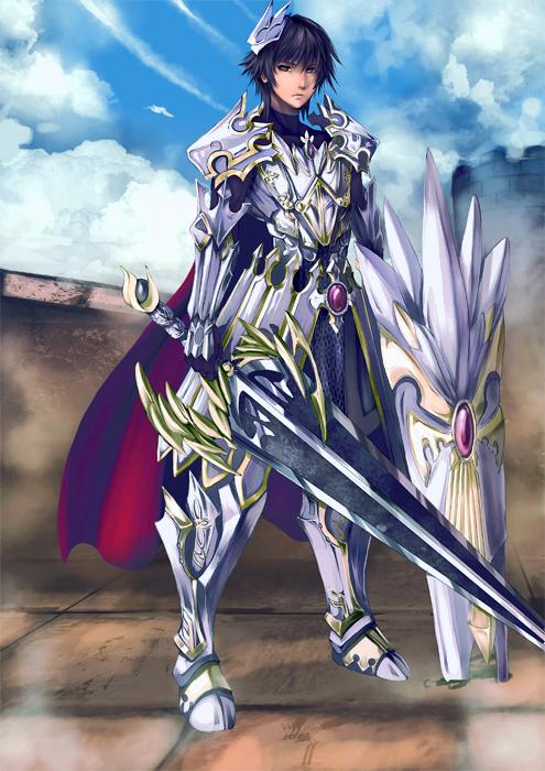FEZ contest: warrior by khanshin