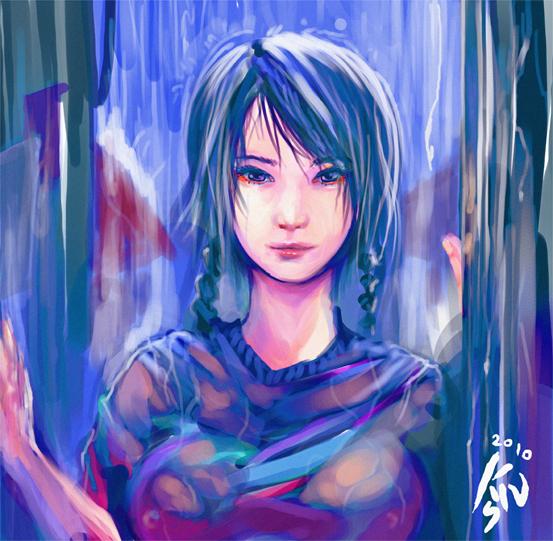under the rain by khanshin