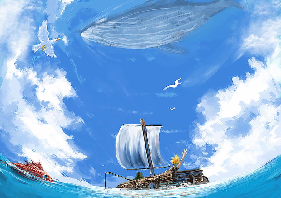 wander on the sea by khanshin