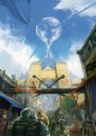 concept art:fantasy city