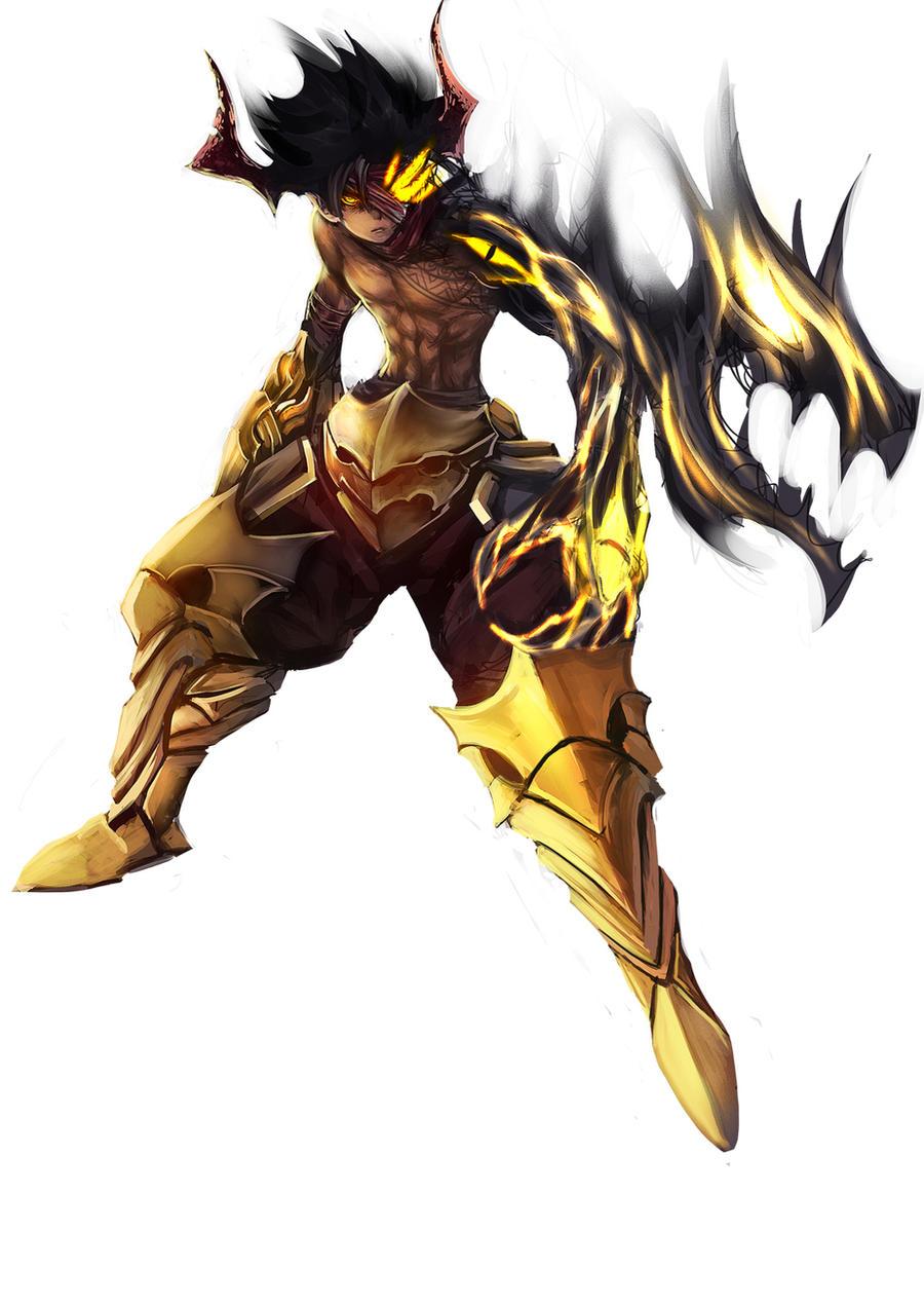demon boy by khanshin