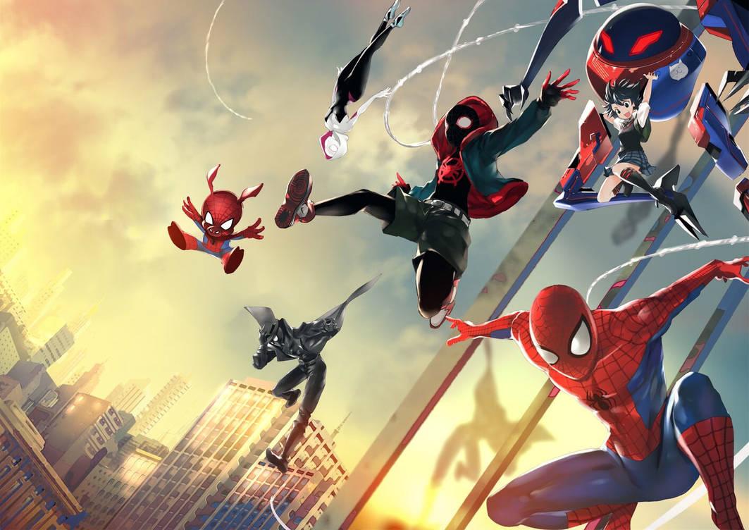 Spiderverse  by khanshin