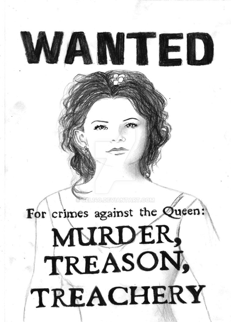 Snow White Ouat Wanted Poster By Cel140 On Deviantart
