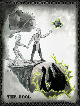 Dragon Age - The Fool Tarot Card