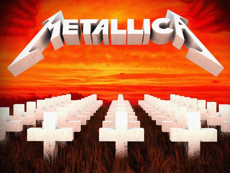 Metallica Master Of Puppets Tour