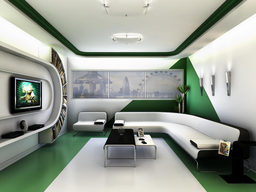 futuristic living rooms futuristic living room by twinshock on deviantart 11654