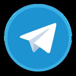 Telegram Icon by mrKarianov