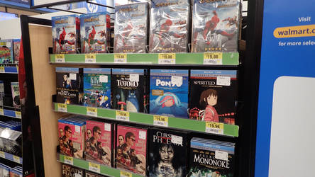 GHIBLI films in the store. #1 - 10/17/17
