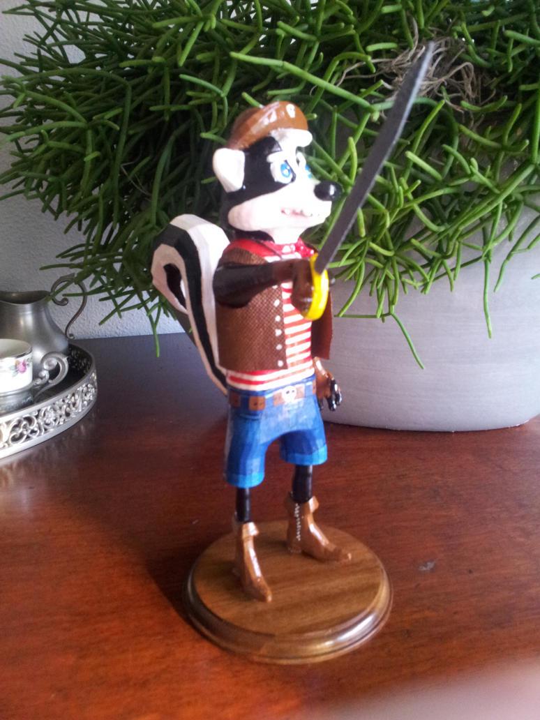 captain skunk 3d print by bellcaunion on deviantart