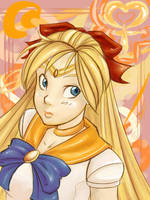 SAILOR VENUS +o+ by Chibix