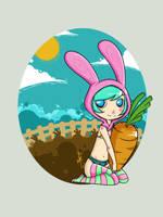 -Le petite lapin by hypheen