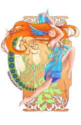 -Azulejo Art Nouveau by hypheen