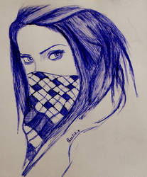 09 - The Girl With the (blue) Scarf