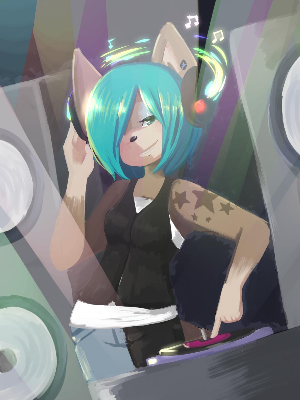 DJ Erin by buggingtin