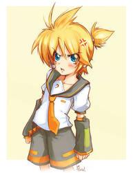 Vocaloid - Kagamine Len - by LazyTurtle