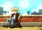 N.N. - late for date -