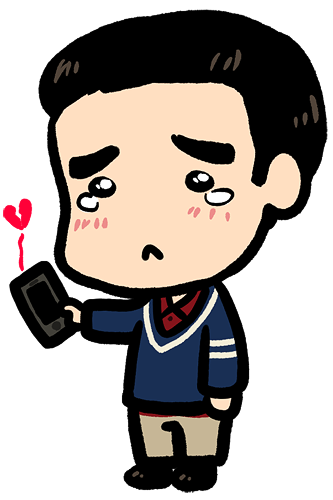 glee - sad blaine - by LazyTurtle