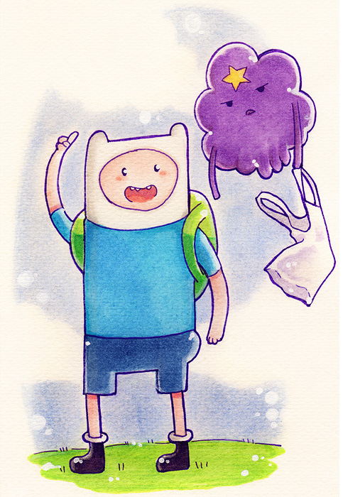 Finn and LSP by LazyTurtle