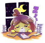 Sleeping Isabelle