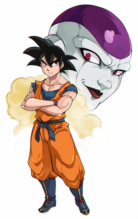 Son Goku by LazyTurtle