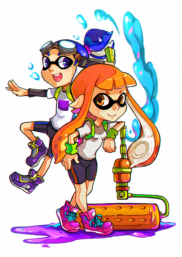 Splatoon by LazyTurtle