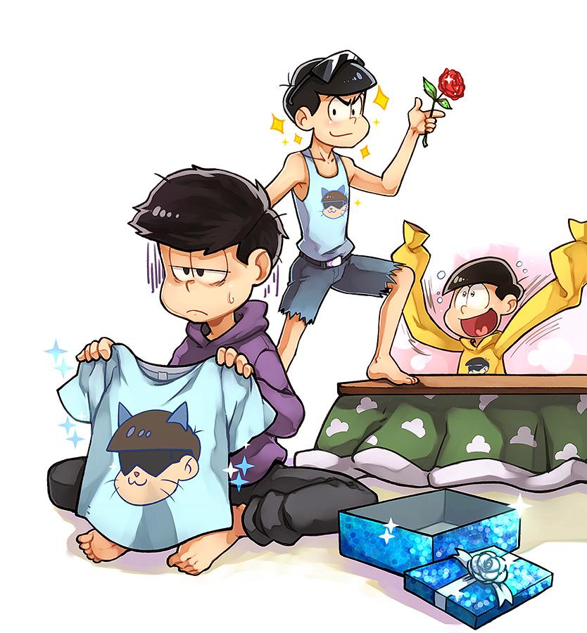 Karamatsu boys by LazyTurtle