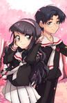 Tomoyo and Eriol