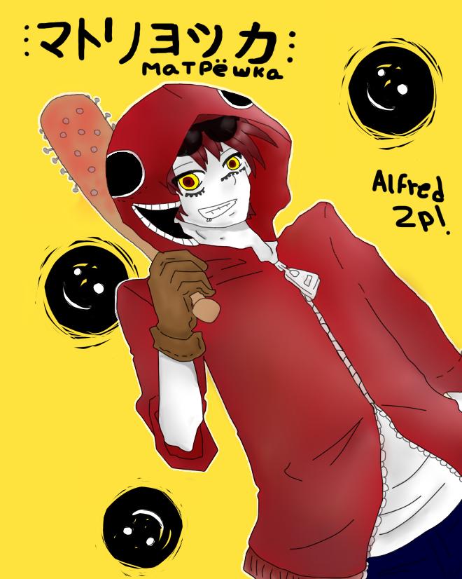Matryoshka Alfred 2p! by SpanishPandaHero