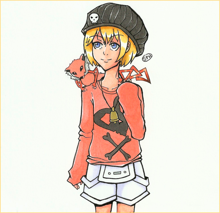 TWEWY| Rhyme| Inktober Day 9 by SpanishPandaHero