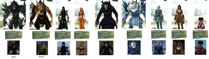 [OLD] My Guild Wars 2 Characters by Akira-Wolf