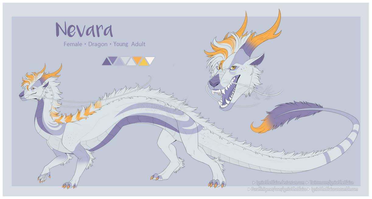 Reference Sheet Nevara by Akira-Wolf