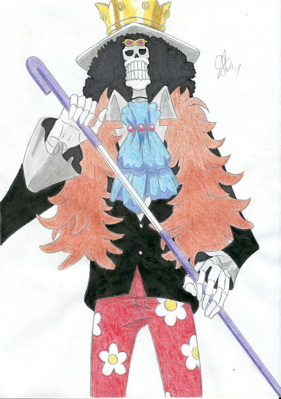 Brook Timeskip - One Piece by PataPez on DeviantArt