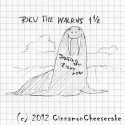 RIKU THE WALRUS 1 1/2