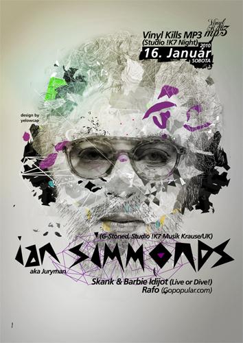 ian simmonds poster by wladko
