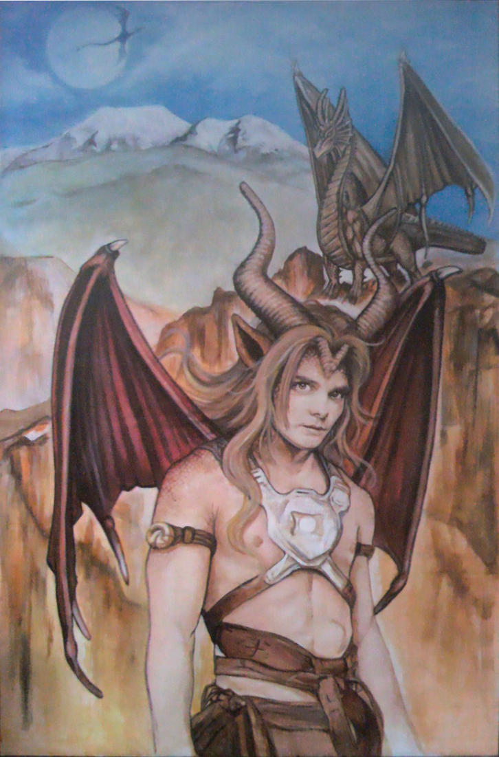 Progress 06 - Kurth Dragoleth by CantonHeroine