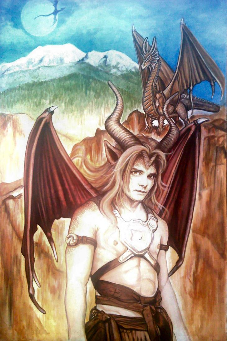 Progress 07 - Kurth Dragoleth by CantonHeroine