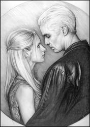 Buffy and Spike by CantonHeroine