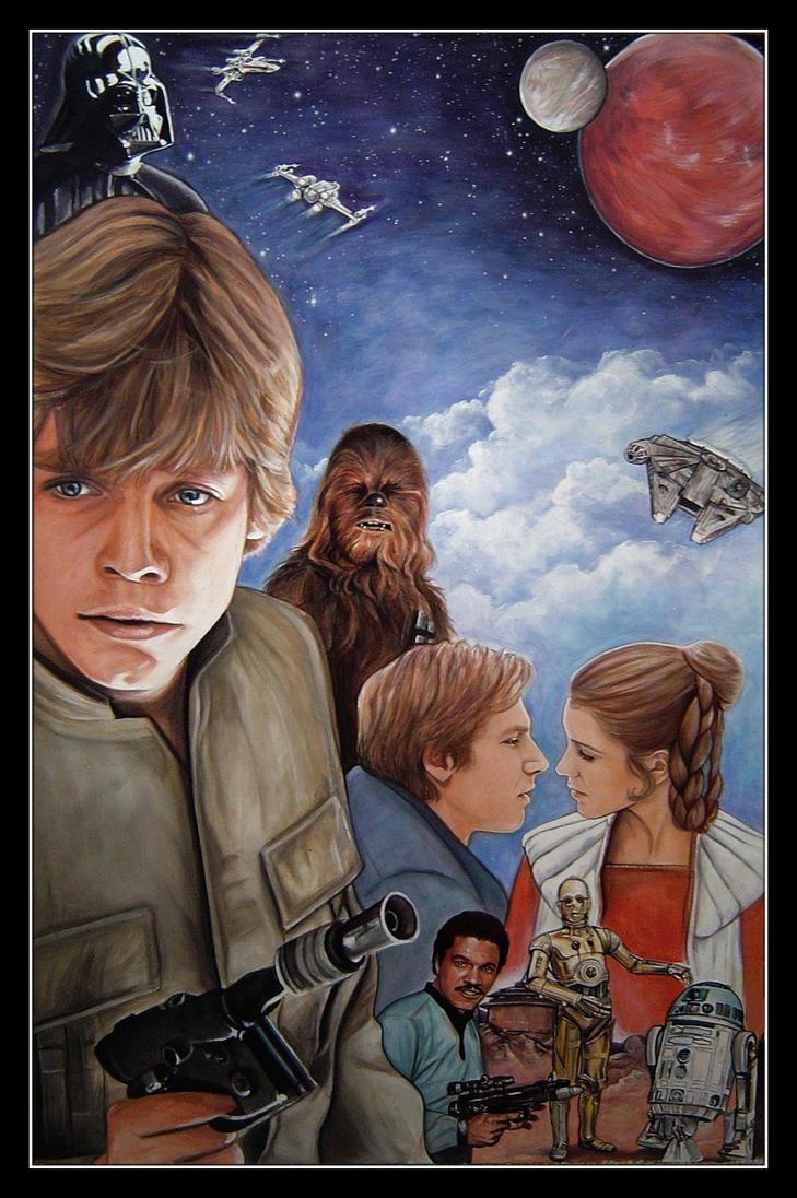 Star Wars: Original Trilogy by CantonHeroine