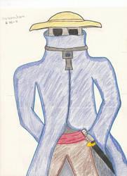 Takarou the robot samurai by metamochara