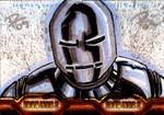 IM2 Sketch Cards: Iron Man Mk1