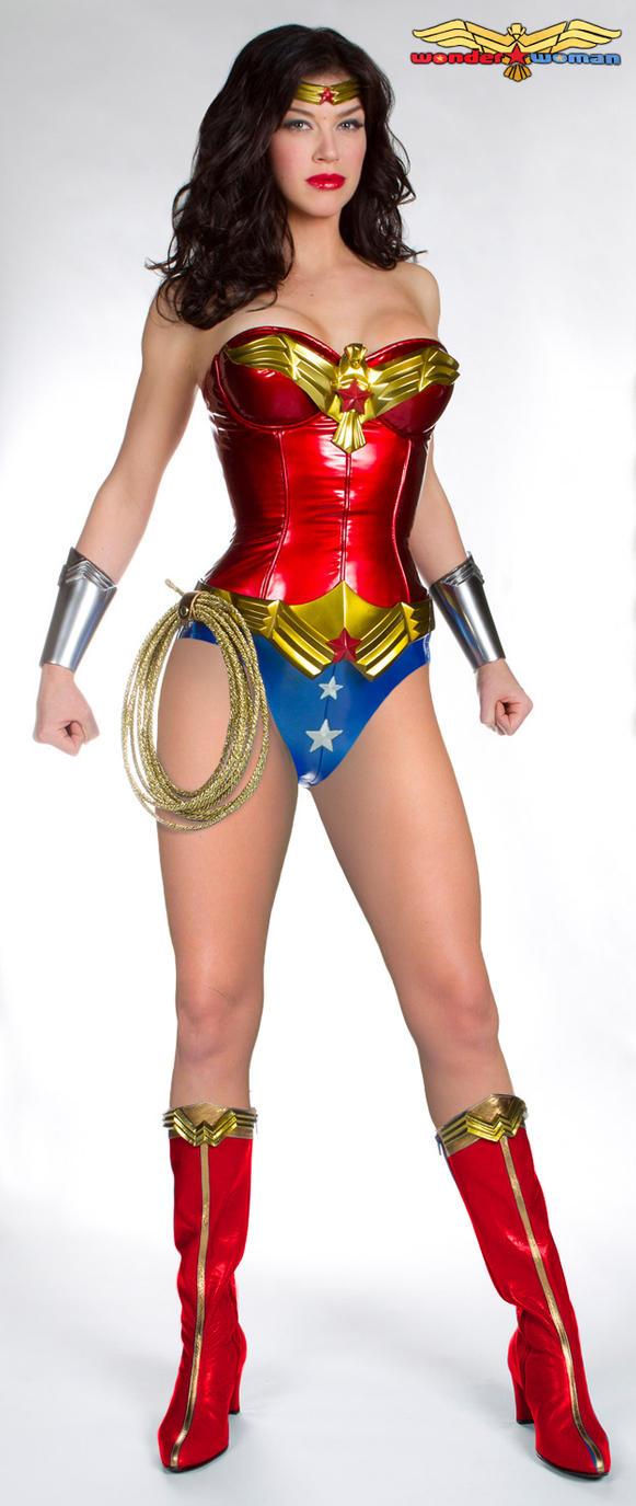 New Wonder Woman Costume by FrankRapoza