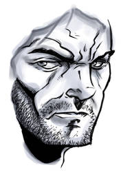 WARMUP : Digital Sketch by FrankRapoza