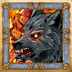 Ragnarok: Fall of Odin - Fenrir by FrankRapoza