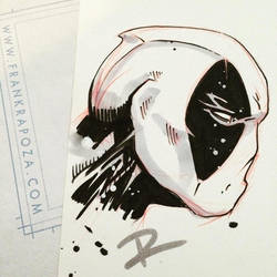 Paper Sampling: Deadpool by FrankRapoza