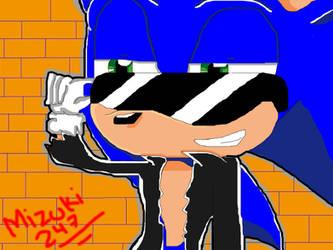 bad sonic by Mizuki247