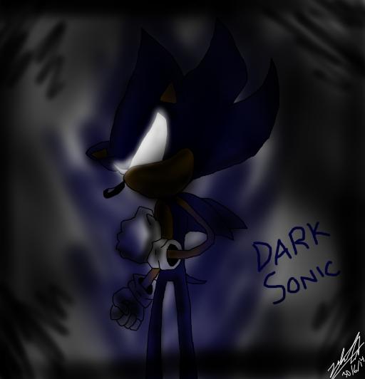 DARK SONIC by Mizuki247